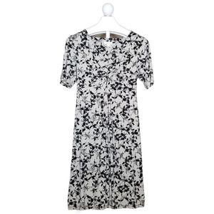 Monsoon Vine Patterned Short Sleeve Dress 14